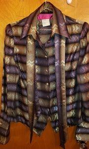 Vintage Christian Lacroix button down blouse